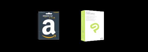 Amazonギフト券1万円分 + CLIP STUDIO PAINT DEBUT
